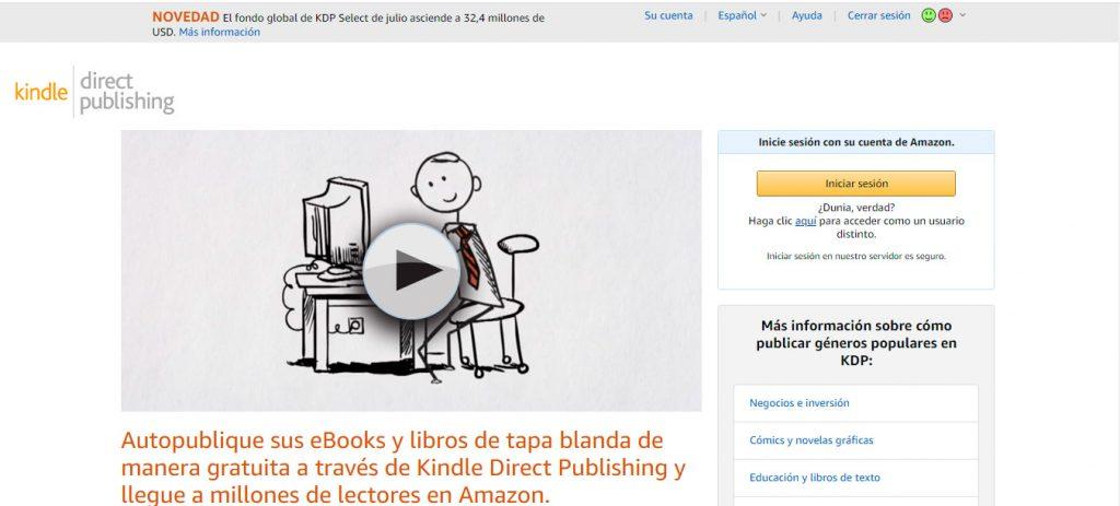 web para publicar libro online